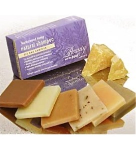 Beauty and the Bees shampoo bars
