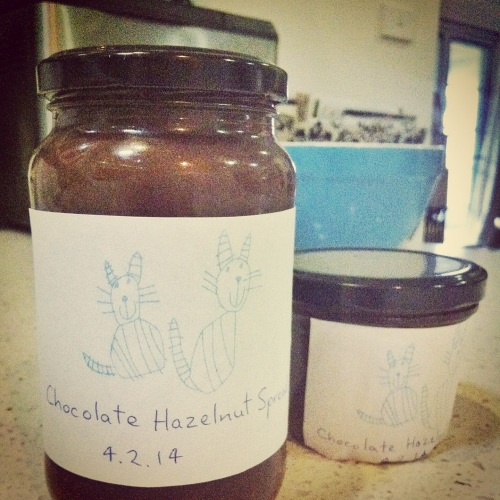 Chocolate Hazelnut Spread - Fair Trade chocolate and palm oil free